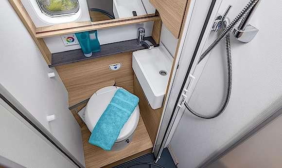 één badkamer met meerdere functies
