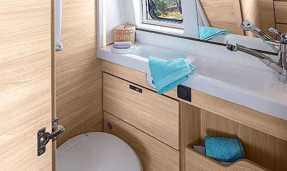 Standaard compacte badkamer