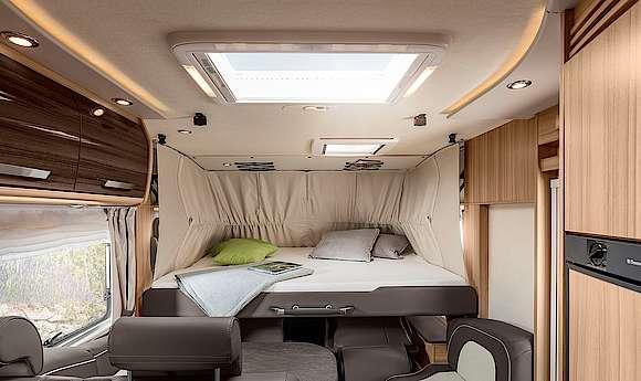 Comfortabel hefbed
