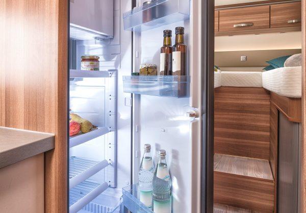 Weinsberg CaraLoft Grote koelkast